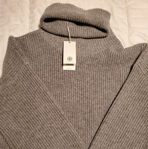 NWT Tory Burch Turtleneck Wool/Cashmere Sweater